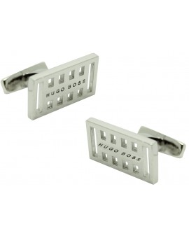 Cufflinks Hugo Boss Grid square - plated