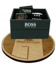 Cufflinks Hugo Boss Grid square - plated