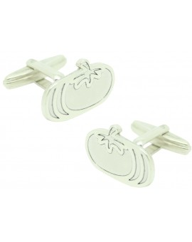 Cufflinks for personalized shirt Tomatoes Silver 925