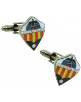 Cufflinks for shirt Castellón of Soccer