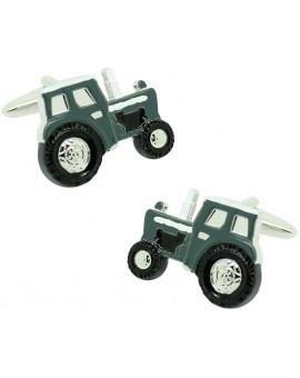 Gemelos para camisa Tractor verde militar agricola