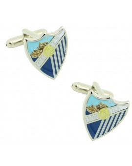 Cufflinks for shirt Malaga Club de Futbol