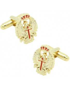 Spanish Army Shield Cufflinks