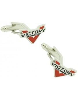 Gemelos para camisa Victory Motorcycles
