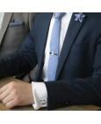 corbata personalizada star wars azul