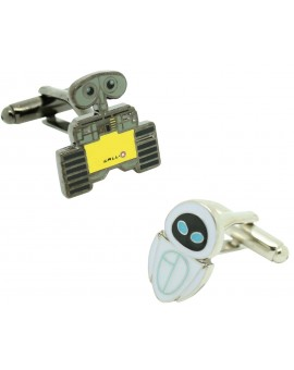 Cufflinks for shirt WALL-E and EVA color