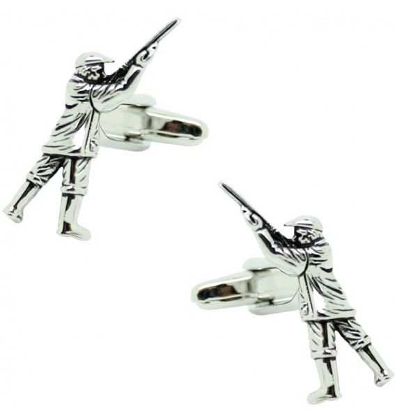Cufflinks for shirt Hunter 3D