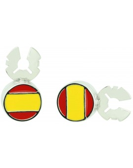 Cover button flag of Spain