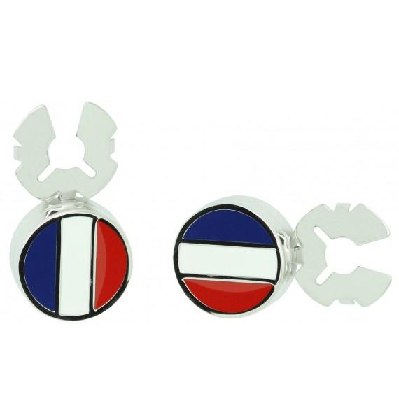 Cubrebotones para camisa Bandera de Francia