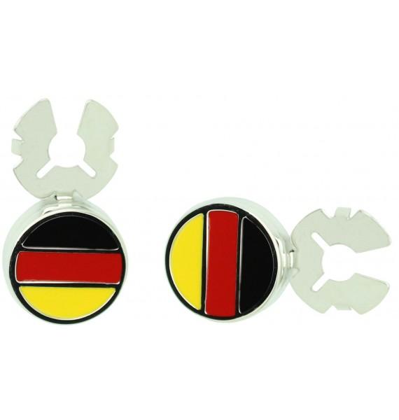 Cubrebotones para camisa Bandera de Alemania