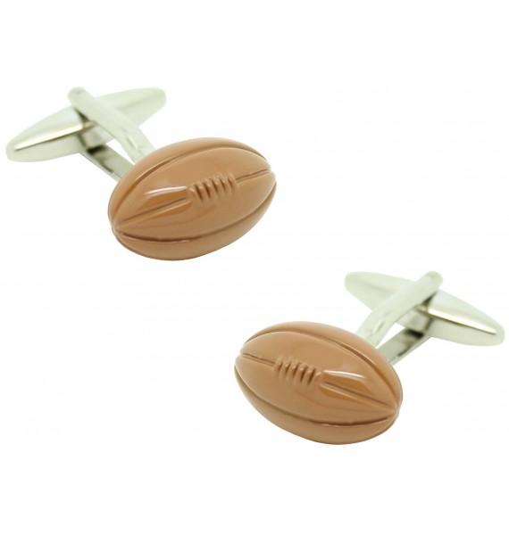 Gemelos para camisa Balon Rugby 3D