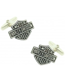 Davidson harley shirt cufflinks sterling 925