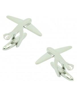 Cufflinks for shirt Airplane Glider