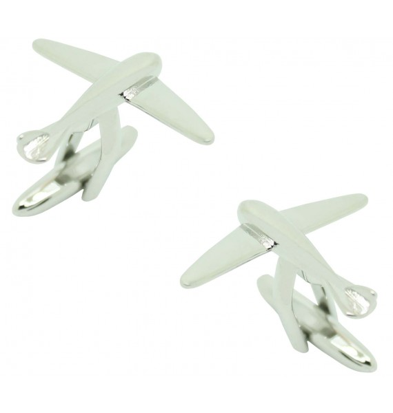 Cufflinks for shirt Airplane Glider