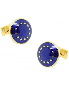 Cufflinks for shirt Skultuna European Union - golden