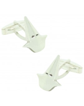 Capirote shirt cufflinks Sterling silver