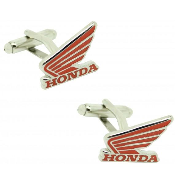 Gemelos para camisa Honda motorcycles rojo