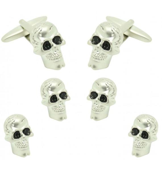 skull Smoking Set Studs