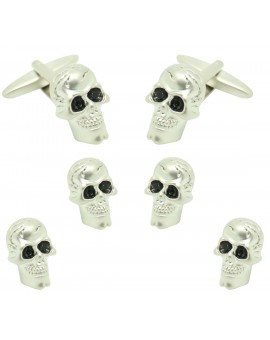 skull Smoking Set Studs