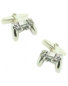 Gemelos para camisa mando PlayStation Plata de Ley 925 PREMIUM