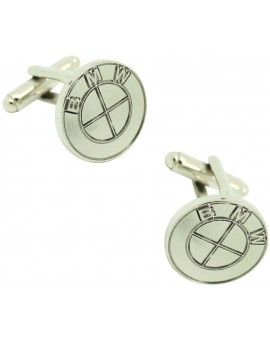 BMW logo cufflinks plated
