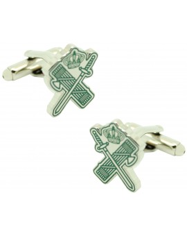 Cufflinks for shirt Lictors beam and sword Guardia Civil