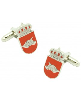 Cufflinks for distinctive shirt stay armed forces tank