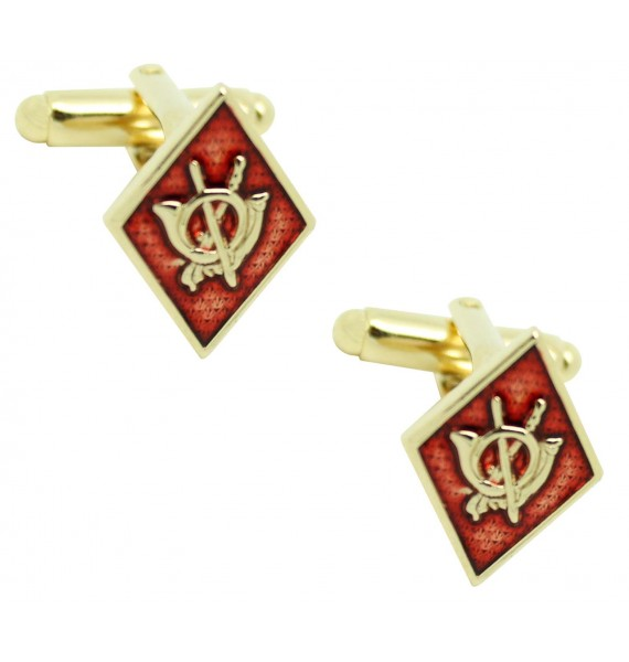 Cufflinks for emblem shirt Rhombus infantry