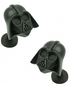 Cufflinks of Darth Vader black 3D Star Wars