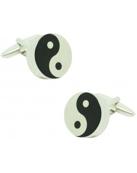 Cufflinks for Ying Yang 3D
