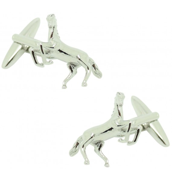 Spanish horse shirt cufflinks