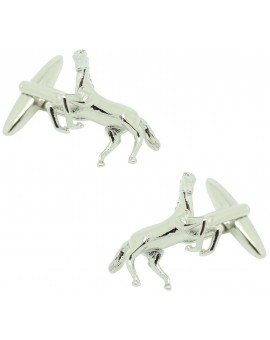Spanish and arabian horse shirt cufflinks