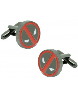 Cufflinks for Deadpool shirt plus pin and money clip - MARVEL
