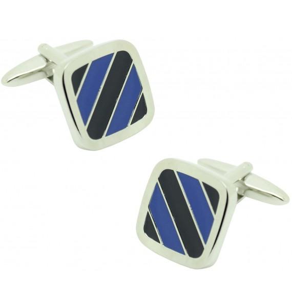 Gemelos para camisa ICON two tones blue and black
