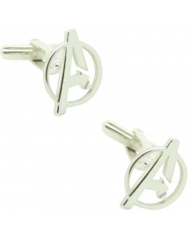 Cufflinks for AVENGERS custom 925 sterling silver
