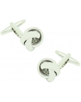Rounded Knot Cufflinks