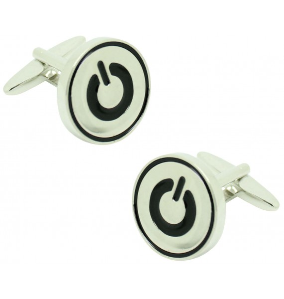 Apple Energy Button Shirt Cufflinks