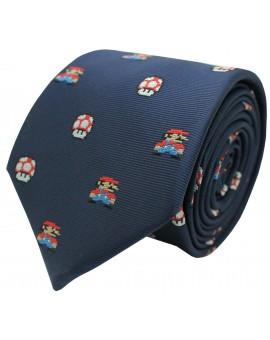 Tie Mario Bros pixels and Mushroom