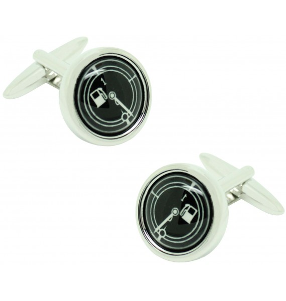 Cufflinks for marker shirt and black gas tank