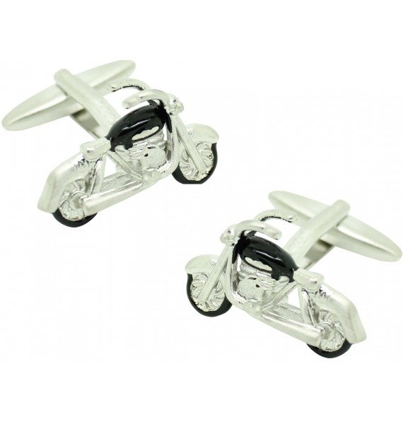 Classic Motorcycle Shirt Cufflinks
