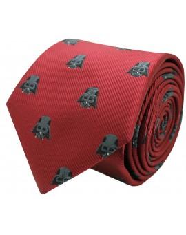 Red Darth Vader Star Wars silk tie