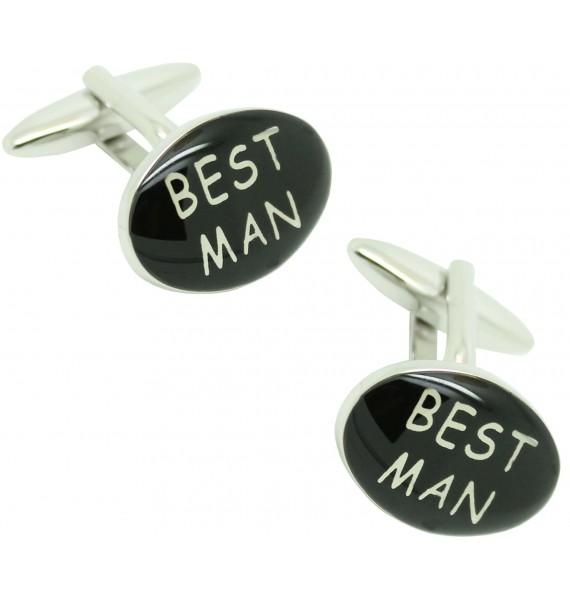 Best Man cufflinks for men