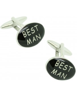 Best Man cufflinks for men