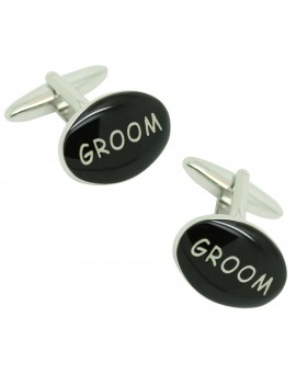 Groom cufflinks for men