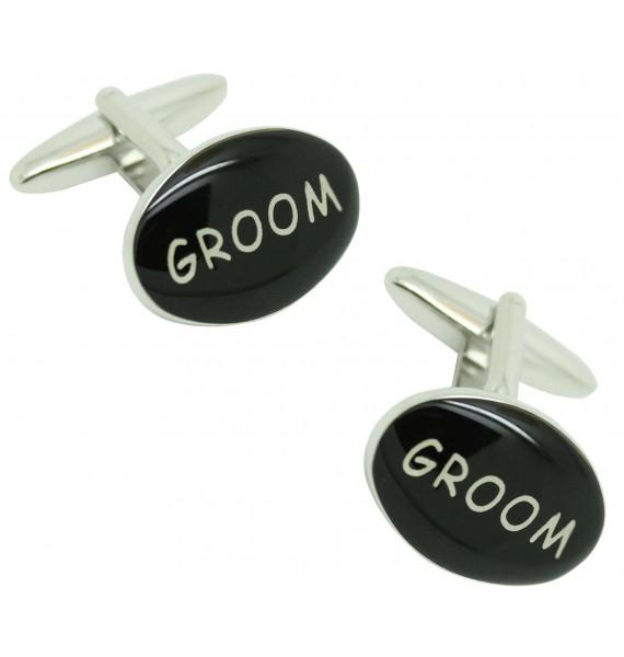 Groom cufflinks for men