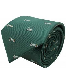 Corbata de DELOREAN regreso al futuro seda azul