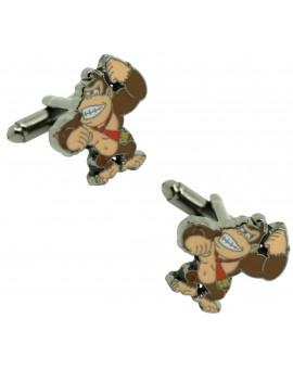 Donkey Kong shirt cufflinks