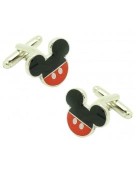 Gemelos para camisa Mickey Mouse pants color