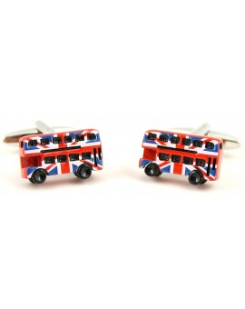 UK Bus Cufflinks