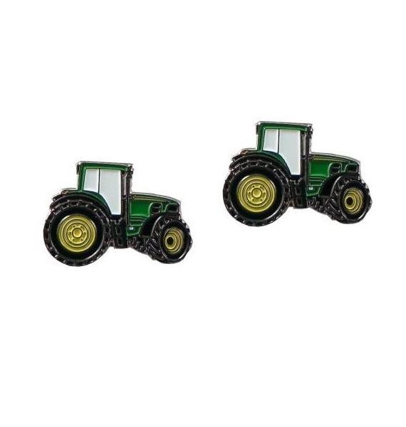 Gemelos Tractor Verde